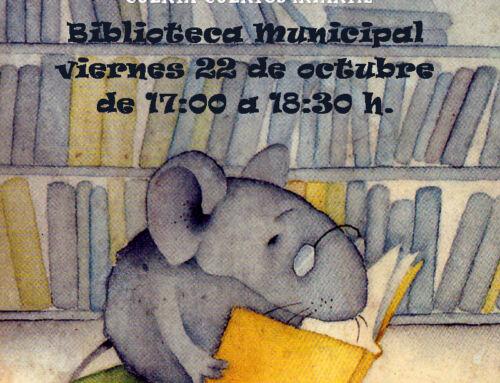 Vuelve «La hora del Cuento» a la Biblioteca Municipal